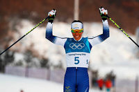 Skilangläuferin Kalla holt erstes Gold der Winterspiele von Pyeongchang