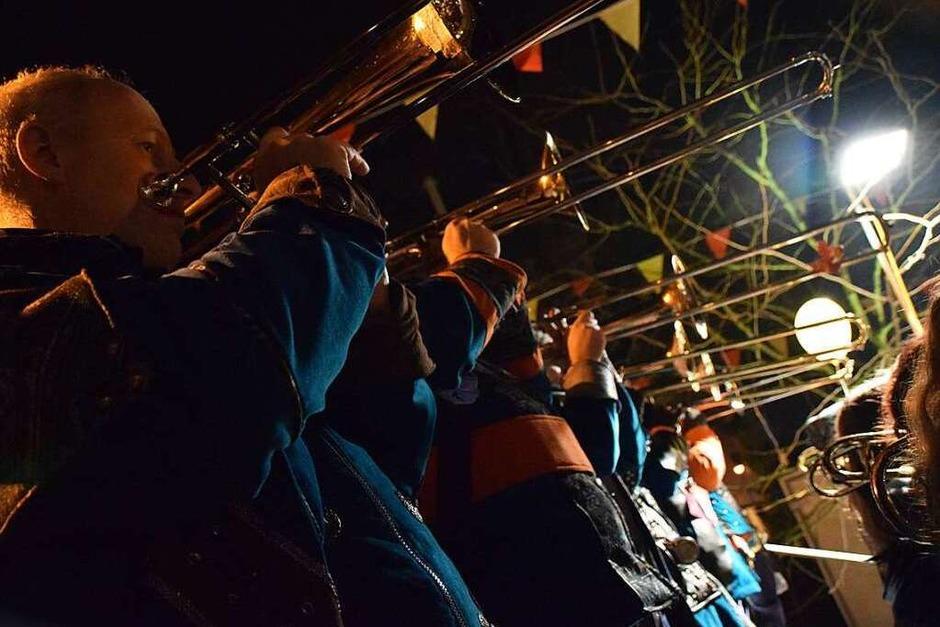 Das Städtle bebte beim internationalen Open-Air-Gugge-Festival. (Foto: Hildegard Siebold)