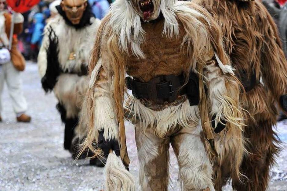 Wer hat Angst vor den Wolfsteufeln aus Waldkirch-Kollnau? (Foto: Hans-Peter Müller)