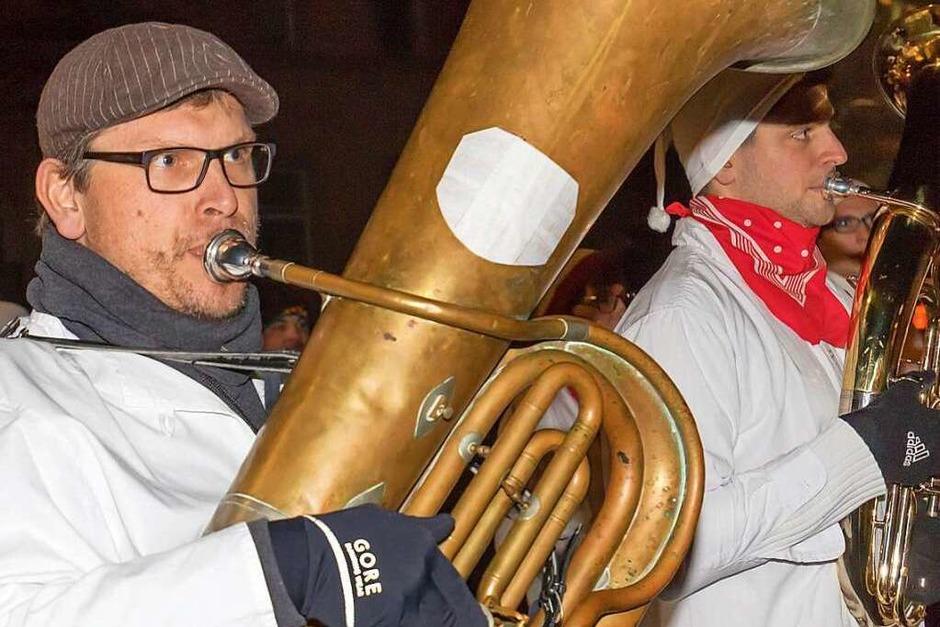 Hemdglunker auf Tour in Grafenhausen. (Foto: Wilfried Dieckmann)