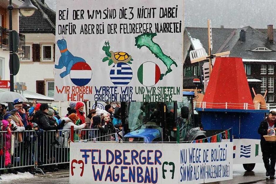 Die Feldberger Wagenbauer konnten es nicht lassen. (Foto: Eva Korinth)