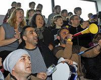 Bei der Begegnung SV Weil-FC Basel kommt es zum Lautstärkeduell