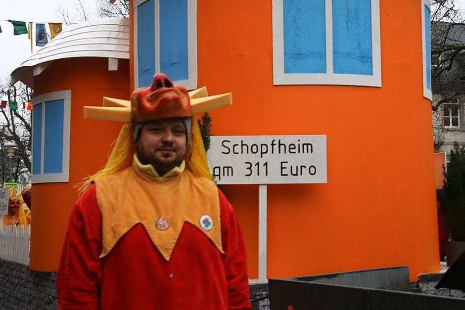 """""""Hypothekenbuckel Raitbach"""" hieß dieser Wagen des Sternen-Zinkens (Foto: Marlies Jung-Knoblich)"""