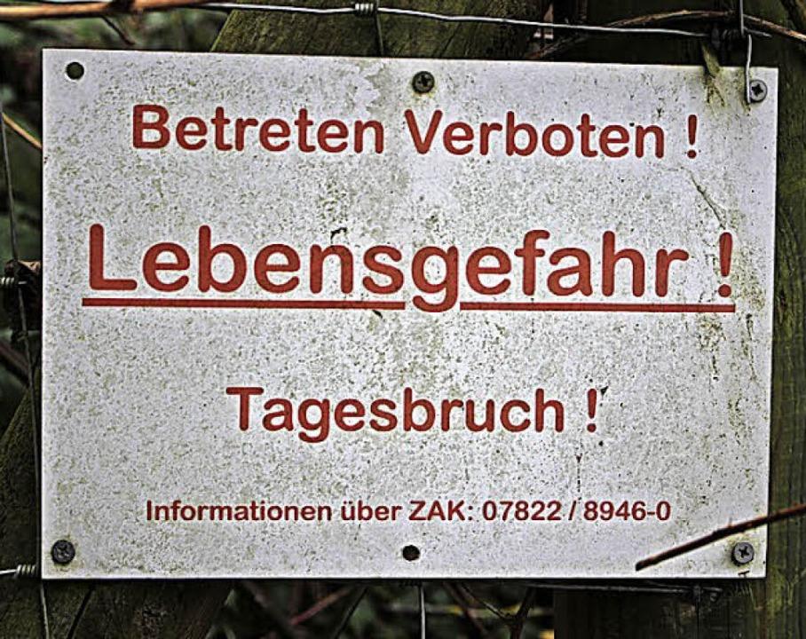 Tagesbruch im Herbolzheimer Rebberg  | Foto: Patrik Müller