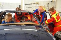 Die DLRG in Weil am Rhein hat jetzt ein wassertaugliches Übungsauto