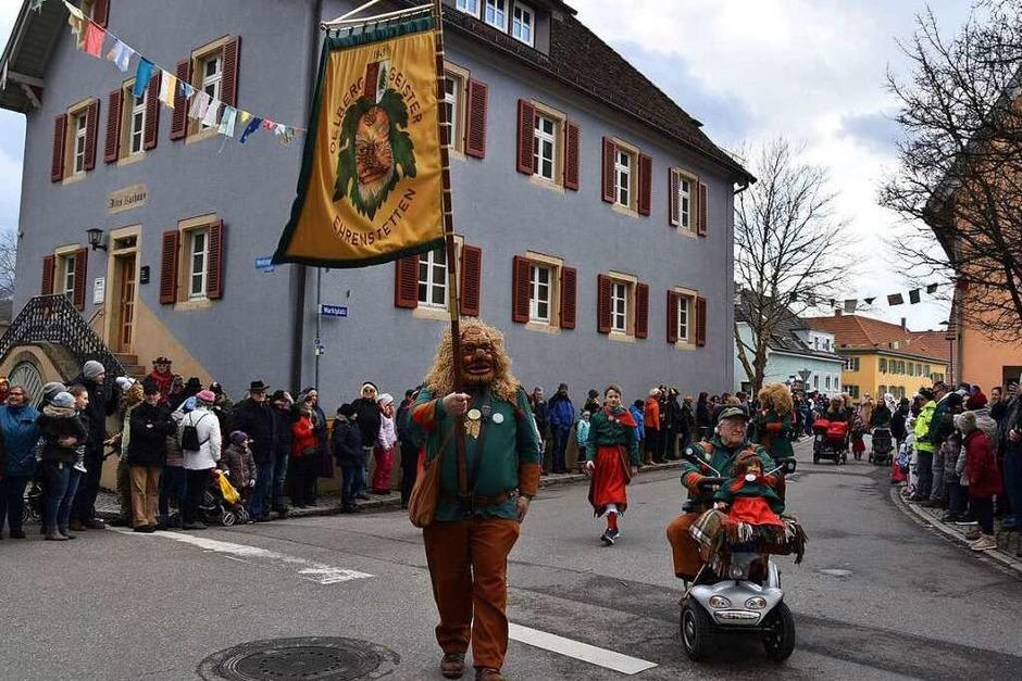 Impressionen vom Umzug in Ehrenkirchen (Foto: Andrea Gallien)