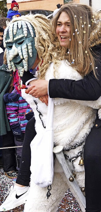 So manche junge Dame wurde von den Gletschergeistern Präg abgeschleppt.  | Foto: Verena Wehrle
