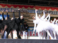 Fotos: Bühnenspiel am Fasnetmendig in Bonndorf