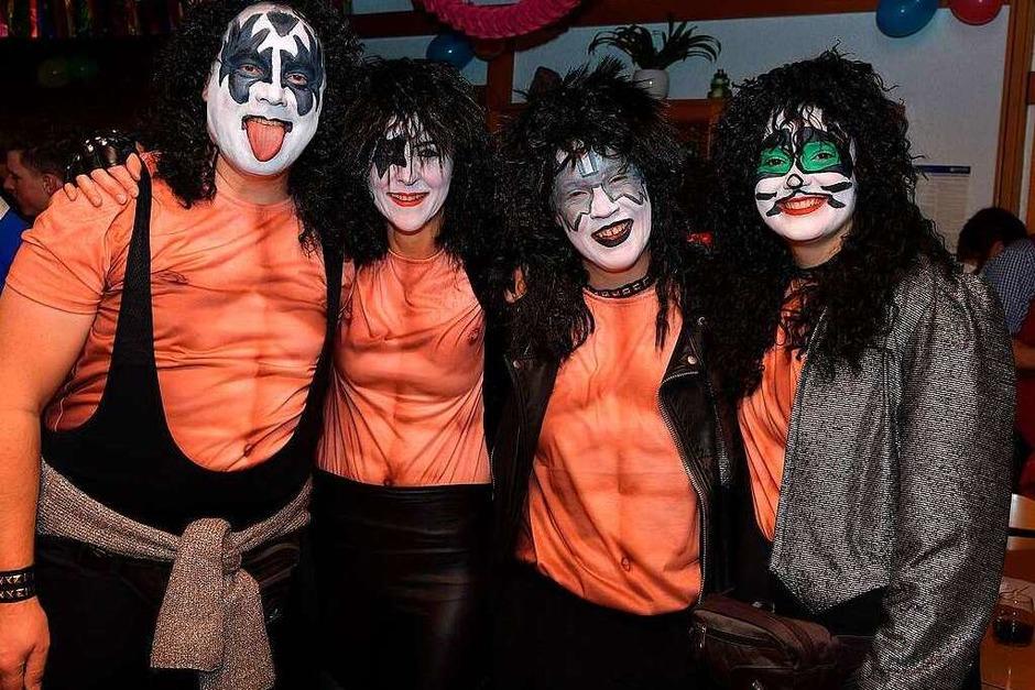Auch Kiss schaffte es in die Wellendinger Hitparade. (Foto: Wolfgang Scheu)