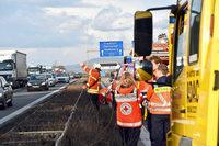 Vier Tote auf A5 - Gaffer-Unfall auf der Gegenfahrbahn