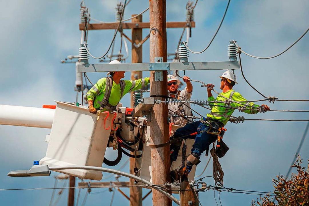 Auch die Elektrizitätsversorgung der U...dischen Strometzes gelten als morsch.   | Foto: dpa