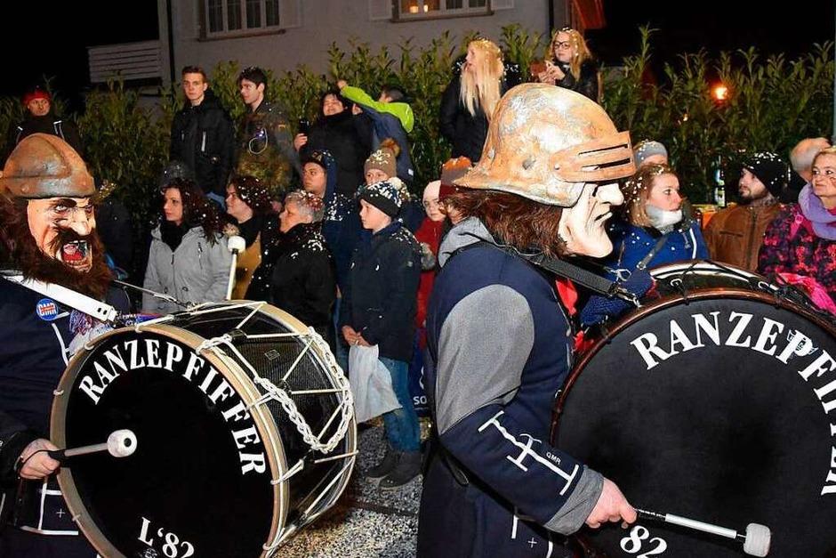 Impressionen vom Nachtumzug (Foto: Heinz u. Monika Vollmar)
