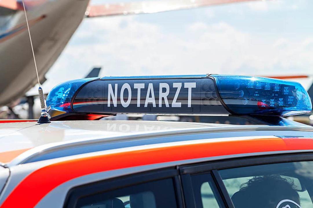 Eine Notärztin musste in Lörrach einen...ennungen zugezogen hatte (Symbolbild).  | Foto: Joerg Huettenhoels (fotolia)