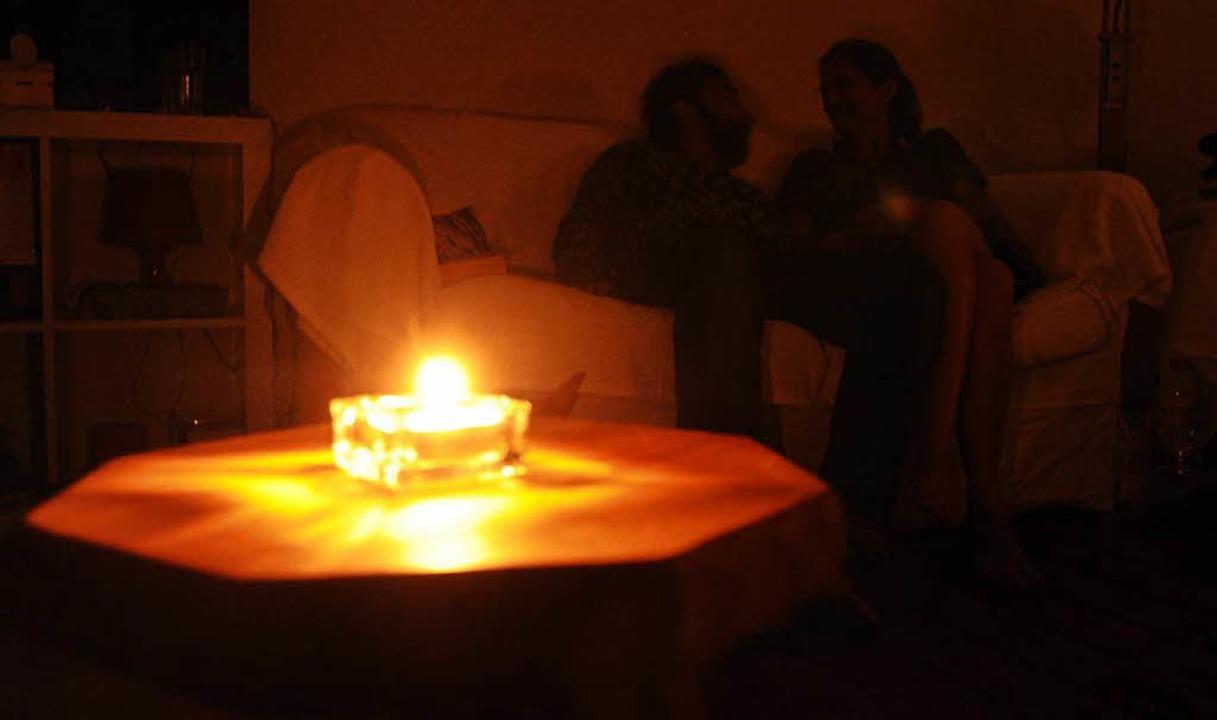 Zum Stromausfall kam es in der Nacht a...enstag in Lörrach-Stetten (Symbolbild)  | Foto: dpa