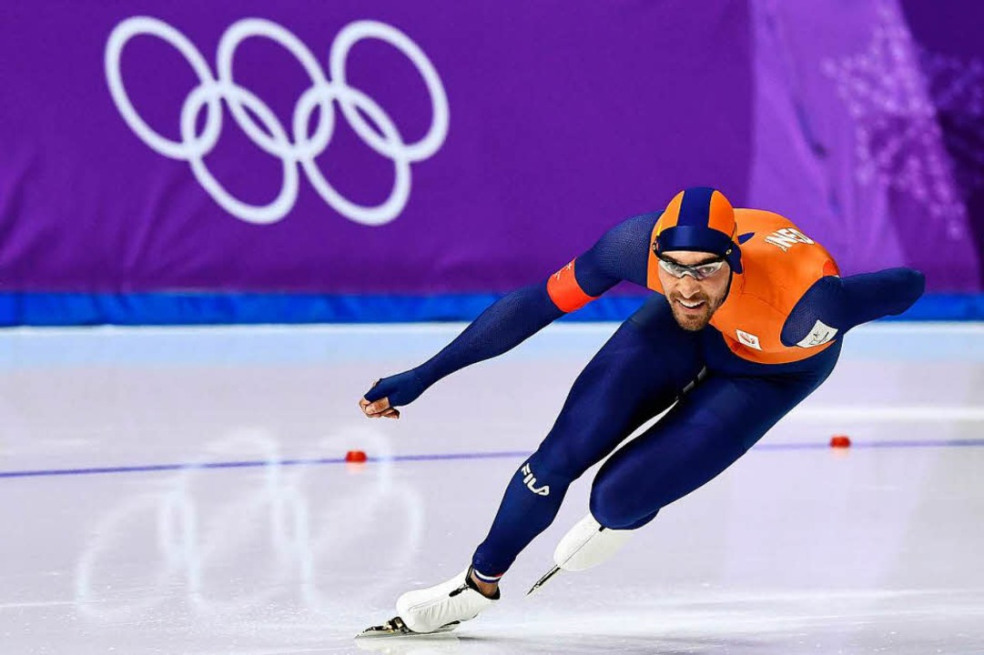 Läuft bei seinem Olympia-Debüt zu Gold: Kjeld Nuis  | Foto: AFP