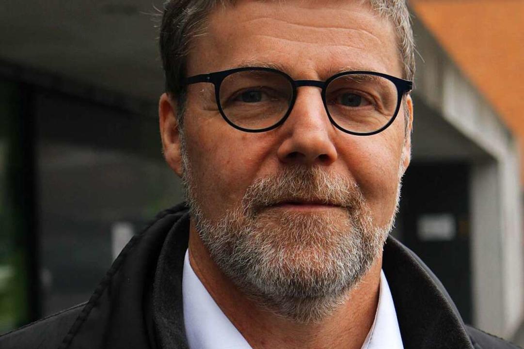 Der 55-jährige Axel Brasse ist Bergbau...ur und leitet die Landesbergdirektion.  | Foto: Patrik Müller