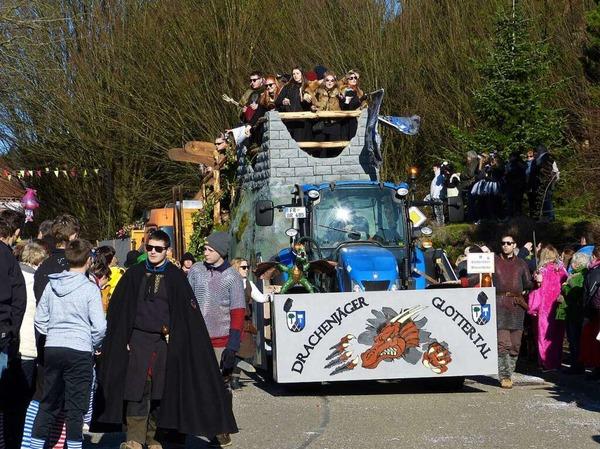 Heimbacher Umzug: Gäste aus dem Glottertal