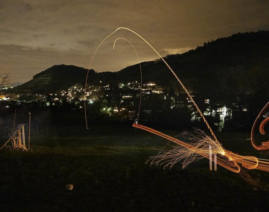 Scheibenschlagen in Sulzburg  | Foto: Gerald Hiestand