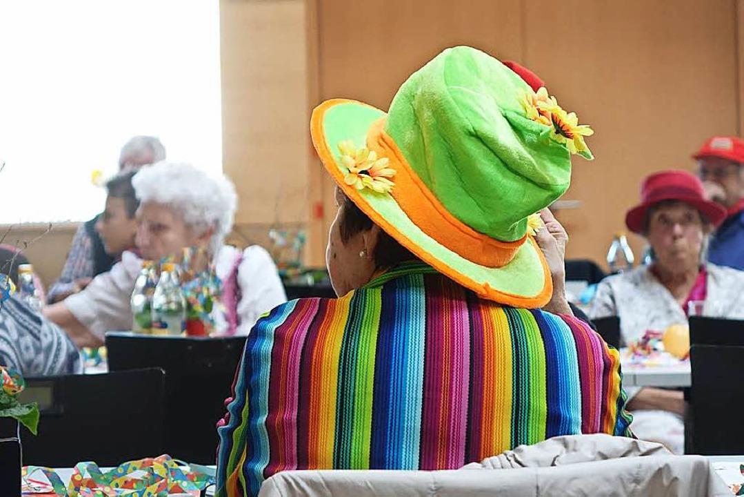 Lustige Verkleidungen gehörten natürlich dazu  | Foto: Katrin Dorfs