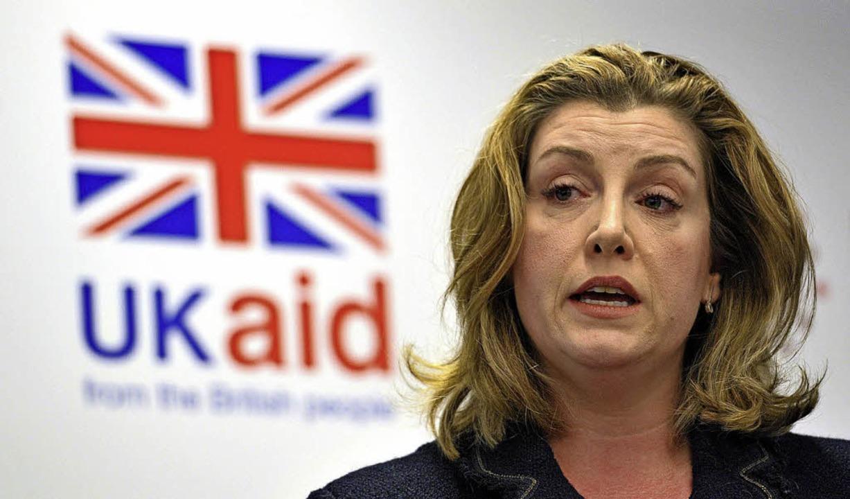 Großbritanniens Entwicklungshilfe-Mini...nisation Oxfam mit Zuschusskürzungen.     Foto: dpa