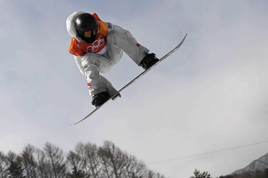 Shaun White feiert dritten Halfpipe-Olympiasieg  | Foto: AFP
