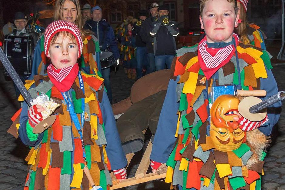 Die Fasnet wurde traditionell zu Grabe getragen. (Foto: Wilfried Dieckmann)