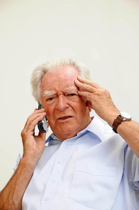 Ein älterer Herr aus Lörrach erhielt e... informierte die Polizei (Symbolbild).  | Foto: Fotolyse / Fotolia.com