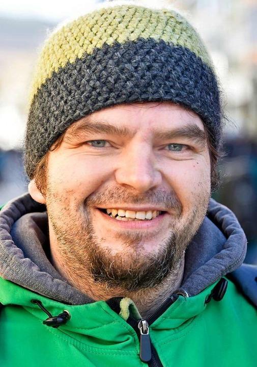 "<BZ-Keyword>Roland Kaiser, 35, Sulzbur... am 14. Februar etwas stressig.""  | Foto: Michael Bamberger"