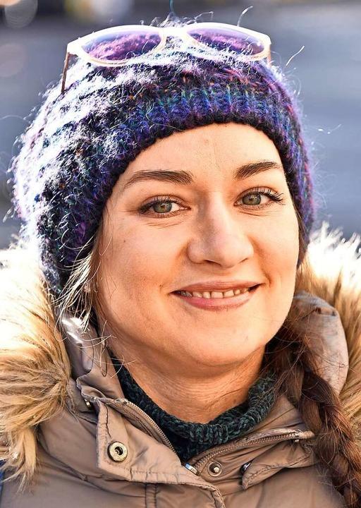 "<BZ-Keyword>Katja Nestserava, 37, Frei...ss das Meiste Geldmacherei ist.""  | Foto: Michael Bamberger"