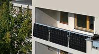 Strom von Balkon oder Terrasse