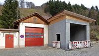Die Feuerwehr baut in Eigenregie