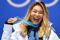 Ob das Gold von Chloe Kim US-Präsident Trump gefällt?