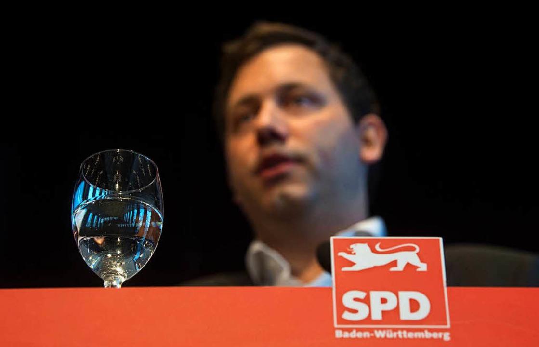 Verteidigt in Ludwigsburg die Groko: SPD-Generalsekretär Lars Klingbeil  | Foto: dpa