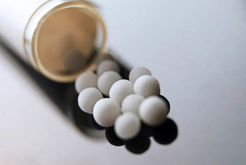 Homöopathische Kügelchen   | Foto: dpa