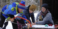In der Junior-Ranger-Gruppe wird Kindern der Naturschutz nähergebracht