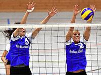 Spitzenspiel im Volleyball