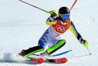 Slalom: Hansdotter Olympiasiegerin - Deutsche historisch schlecht