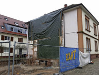 Umbau des Rathauses läuft nach Plan