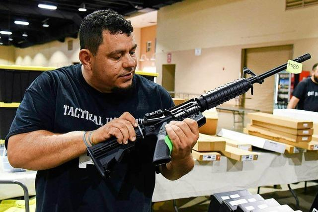 In den USA verteidigt die NRA auch nach Amokläufen das liberale Waffenrecht