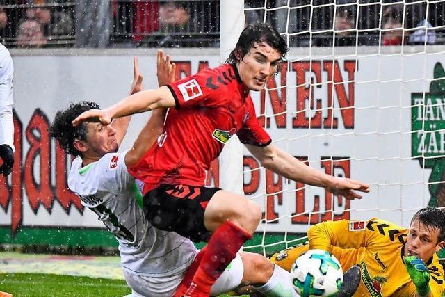 SC Freiburg gewinnt im Schneeregen gegen Werder Bremen