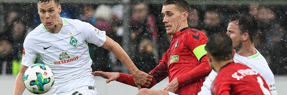 Sportclub Freiburg rettet frühe 1:0-Führung gegen Werder Bremen über die Zeit
