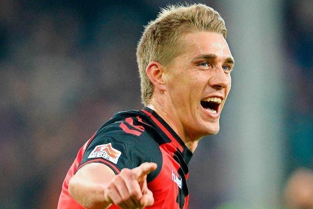 Petersens Treffer gegen Dortmund ist Tor des Monats