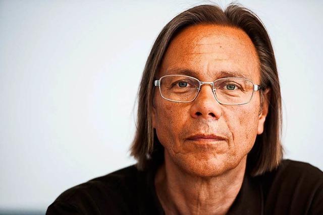Psychologe Harald Welzer spricht im Freiburger Theater