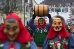 Fotos: Großer Narrenumzug anlässlich der Burefasnet in Sulzburg