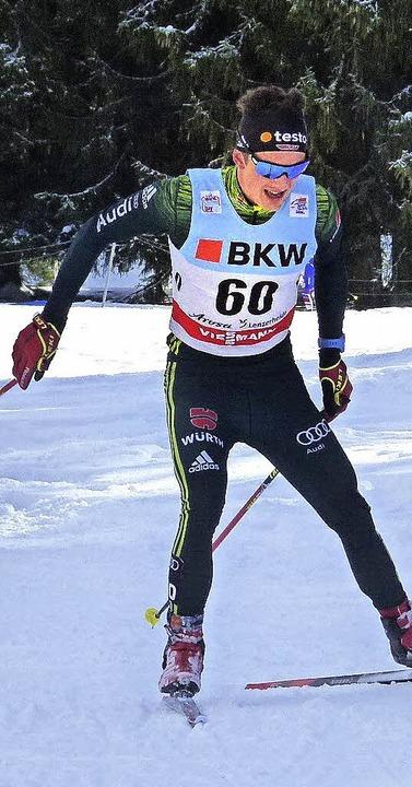 In jedem Rennen ein Kämpfer: Janosch Brugger   | Foto: zvg