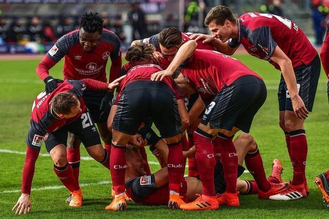Nürnberg stürmt an Spitze und Richtung Aufstieg