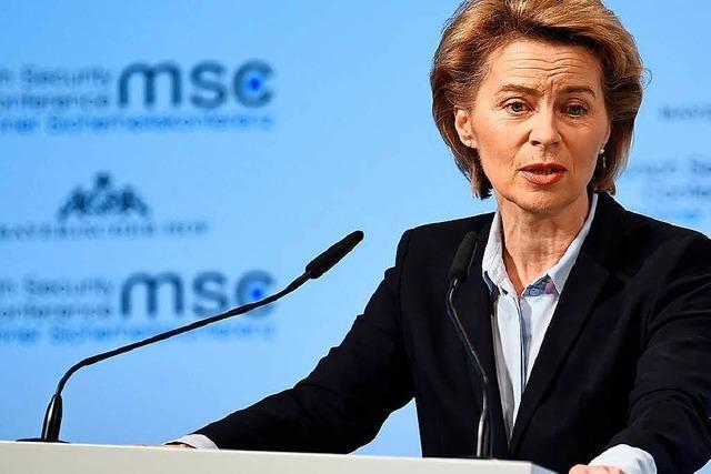 Steht Verteidigungsministerin von der Leyen vor einem Wechsel zur Nato?