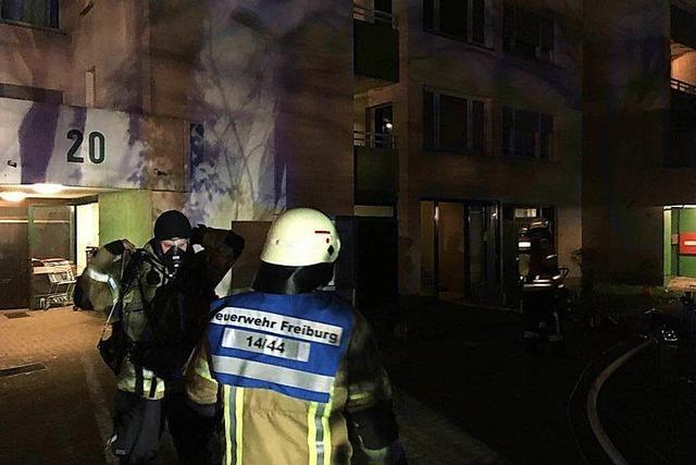 Hochhaus in Landwasser nach Kellerbrand teilweise evakuiert