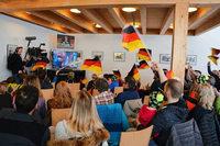 Breitnauer bejubeln Olympiarang fünf von Benedikt Doll
