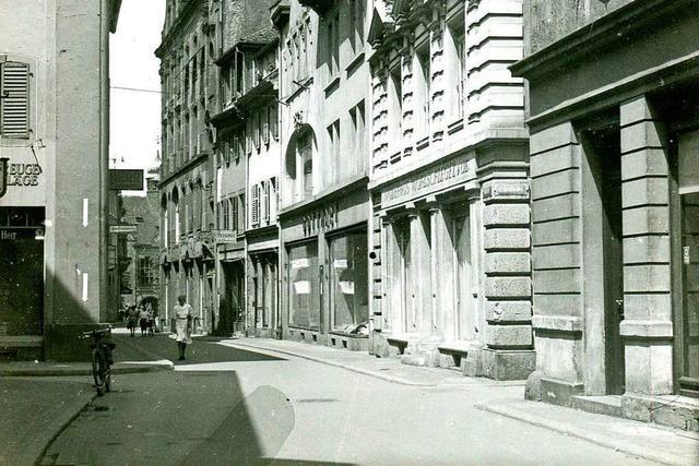 1549 eröffnet: In der Schusterstraße existierte bis 2008 Freiburgs ältestes Geschäft